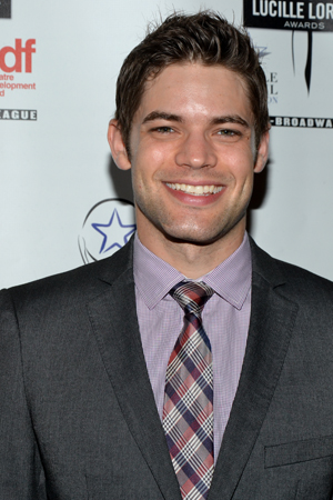 Jeremy Jordan is excited to be one of the evening's presenters.<br />(© David Gordon)