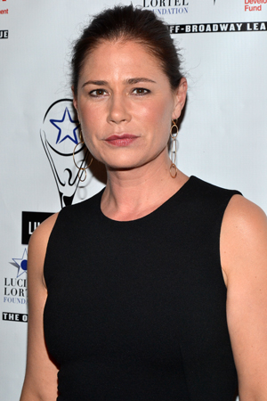 <i>Lucky Guy</i> star Maura Tierney also served as one of the evening's cohost.<br />(© David Gordon)