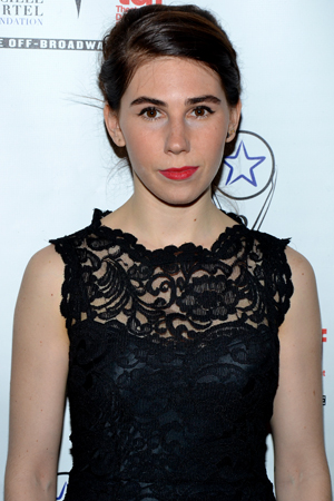 Zosia Mamet, who recently starred in <i>Really Really</i>, was a presenter during the show.<br />(© David Gordon)