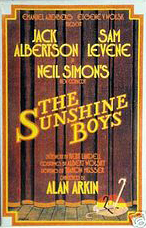 <i>The Sunshine Boys</i> original poster