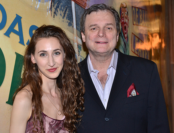 Fresh off MCC's <I>Really Really</I> and now making her Lincoln Center debut, Lauren Culpepper poses with John Procaccino, who has previously appeared at LCT in <I>Blood and Gifts</I> and <I>The Light in the Piazza</I>.<br />(© David Gordon)