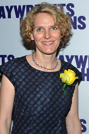 "Obie Award-winning playwright Melissa James Gibson penned her ""unromantic comedy"" <I>This</I> for Playwrights Horizons' 2009 season. <br />(© David Gordon)"