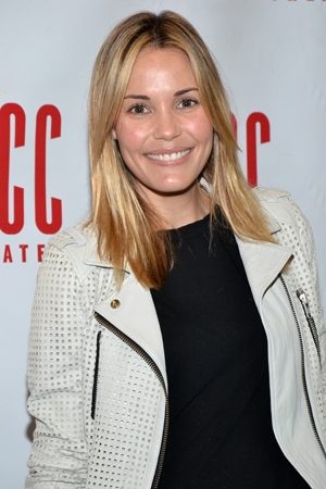 Leslie Bibb, who most recently starred opposite Kristin Chenoweth in ABC's <i>GCB</i>, plays single mom Carly.<br />(© David Gordon)