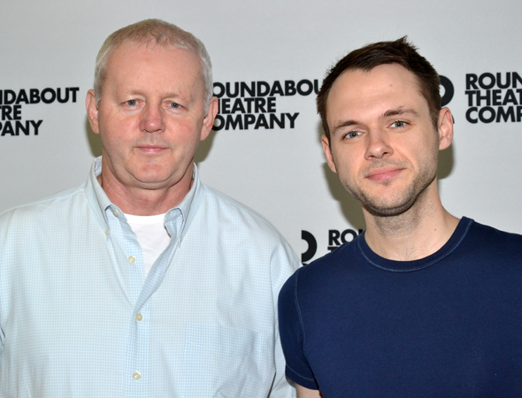 Film and television vets David Morse and Christopher Denham play Tom Durnin and James Durnin, respectively.<br />(© David Gordon)