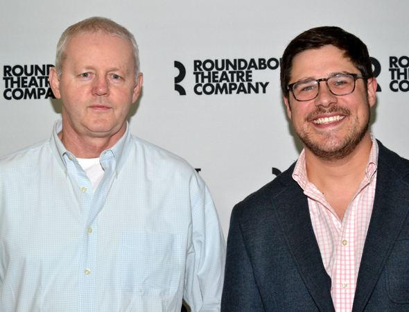 Rich Sommer, best known for playing to role of Harry Crane on <i>Mad Men</i>, will play Chris Wyatt alongside David Morse's Tom Durnin.<br />(© David Gordon)