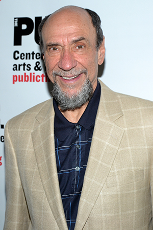 F. Murray Abraham shows up to the Public for some avant-garde theater. Abraham appeared as Friar Laurence in last year's 50th anniversary celebratory Shakespeare in the Park reading of <I>Romeo & Juliet</I> starring Meryl Streep and Kevin Kline. <br />(© David Gordon)