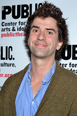 Hamish Linklater takes a night off from rehearsing for the Public's Shakespeare in the Park production of <I>The Comedy of Errors</I>, in which he is to play Antipholus.<br />(© David Gordon)
