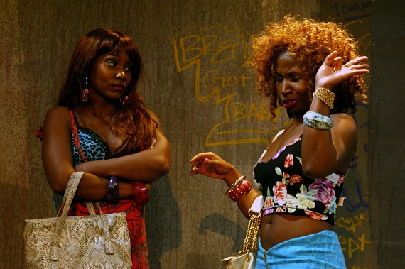 Joniece Abbott-Pratt and Lolita Foster in <i>Alo