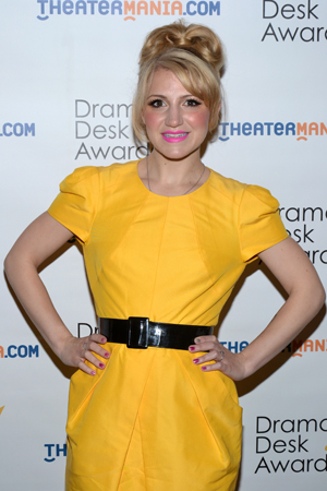 Annaleigh Ashford — Outstanding Featured Actress in a Musical nominee for <i>Kinky Boots</i>.<br />(© David Gordon)