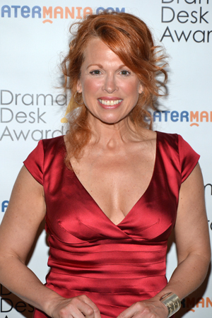 Carolee Carmello — Outstanding Actress in a Musical nominee for <i>Scandalous</i>.<br />(© David Gordon)