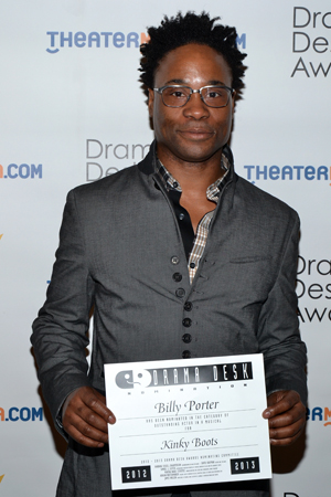 Billy Porter — Outstanding Actor in a Musical nominee for <i>Kinky Boots</i>.<br />(© David Gordon)