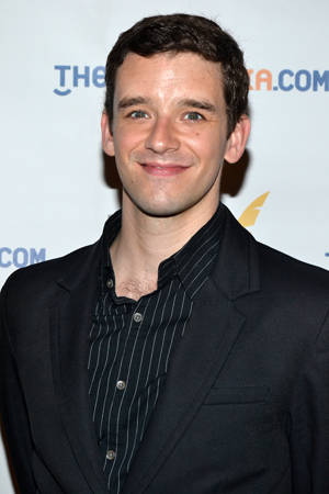 Michael Urie — Outstanding Solo Performance nominee for <i>Buyer & Cellar</i>.<br />(© David Gordon)