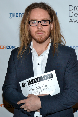 Tim Minchin — Outstanding Lyrics nominee for <i>Matilda</i>.<br />(© David Gordon)