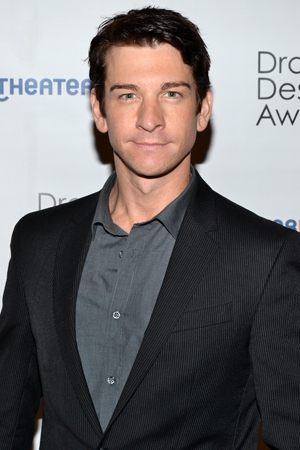 Andy Karl — Outstanding Featured Actor in a Musical nominee for <i>The Mystery of Edwin Drood</i>.<br />(© David Gordon)