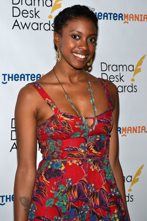 Condola Rashad — Outstanding Featured Actress in a Play nominee for <i>The Trip to Bountiful</i>.<br />(© David Gordon)