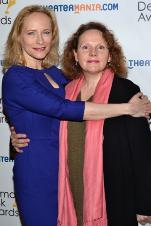 <i>Sorry</i> nominees Laila Robins and Maryann Plunkett.<br />(© David Gordon)