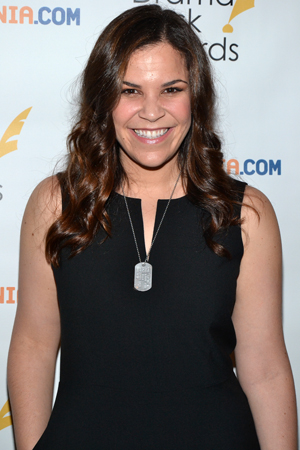Lindsay Mendez — Outstanding Actress in a Musical nominee for <i>Dogfight</i>.<br />(© David Gordon)