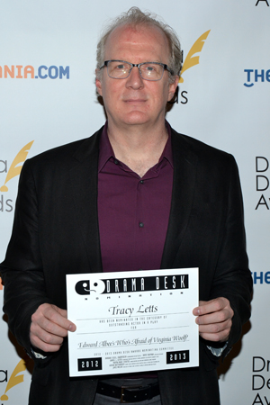 Tracy Letts — Outstanding Actor in a Play nominee for <i>Who's Afraid of Virginia Woolf?</i><br />(© David Gordon)