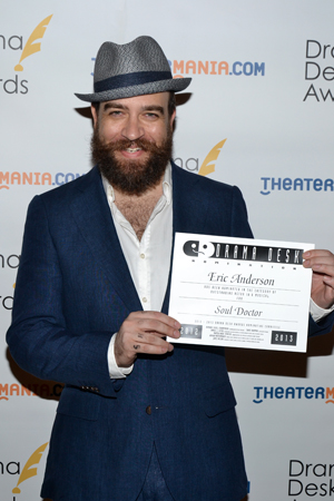 Eric Anderson — Outstanding Actor in a Musical nominee for <i>Soul Doctor</i>.<br />(© David Gordon)
