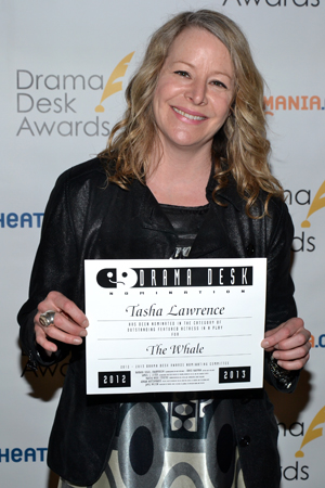 Tasha Lawrence — Outstanding Featured Actress in a Play nominee for <i>The Whale</i>.<br />(© David Gordon)