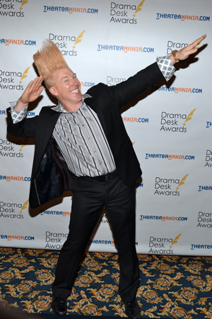 Bello Nock — Unique Theatrical Experience nominee for <i>Bello Mania</i>.<br />(© David Gordon)