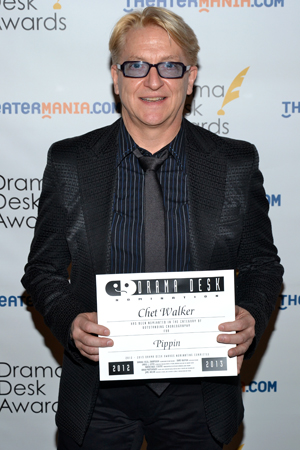 Chet Walker — Outstanding Choreography nominee for <i>Pippin</i>.<br />(© David Gordon)