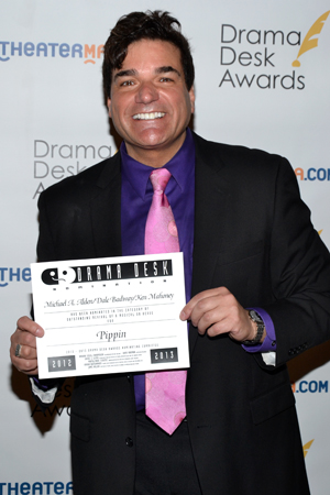 Dale Badway, one of the producers of Outstanding Revival of a Musical nominee <i>Pippin</i>.<br />(© David Gordon)