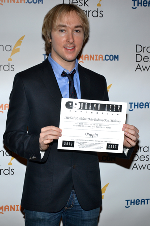 Michael Alden — one of the producers of Outstanding Revival of a Musical nominee <i>Pippin</i>.<br />(© David Gordon)