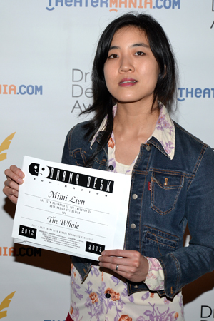 Mimi Lien — Outstanding Set Design nominee for <i>The Whale</i>.<br />(© David Gordon)
