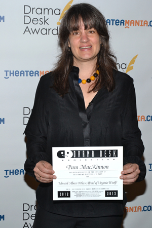 Pam MacKinnon — Outstanding Director of a Play nominee for <i>Who's Afraid of Virginia Woolf?</i><br />(© David Gordon)