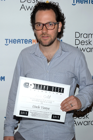 Sam Gold — Outstanding Director of a Play nominee for <i>Uncle Vanya</i>.<br />(© David Gordon)