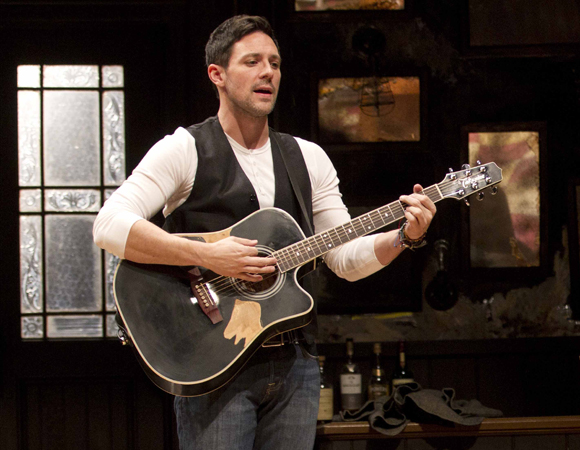 Steve Kazee in <i>Once</i>