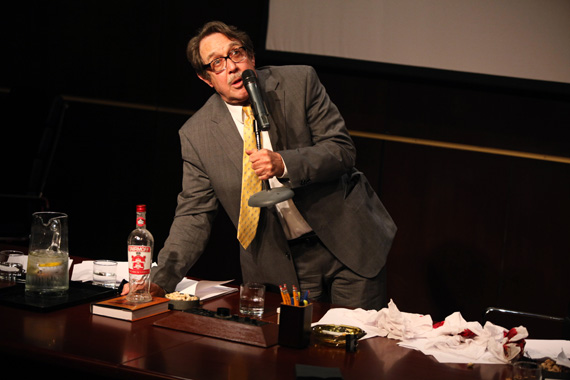 Larry Pine in in <I>A Public Reading of an Unproduced Screenplay About the Death of Walt Disney</I>.