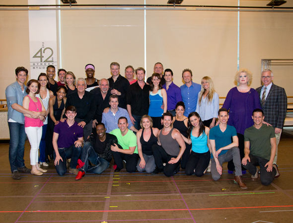 The full cast and crew of Paper Mill's <i>The Little Mermaid</i>.<br />(© David Gordon)