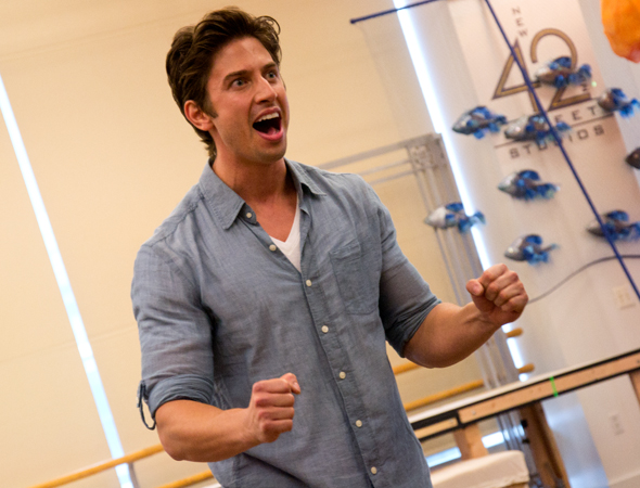 "Nick Adams performs the song ""Her Voice.""<br />(© David Gordon)"