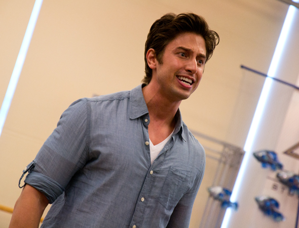 Nick Adams plays Prince Eric, who falls for Ariel after hearing her sing.<br />(© David Gordon)