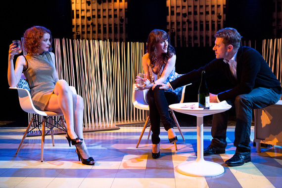 Jelena Stupljanin, Samantha Soule, and Sean Meehan in <I>Realists</I>.