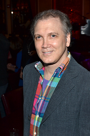 Playwright/actor Charles Busch helped present an honor to New York City Center Encores!<br />(© David Gordon)