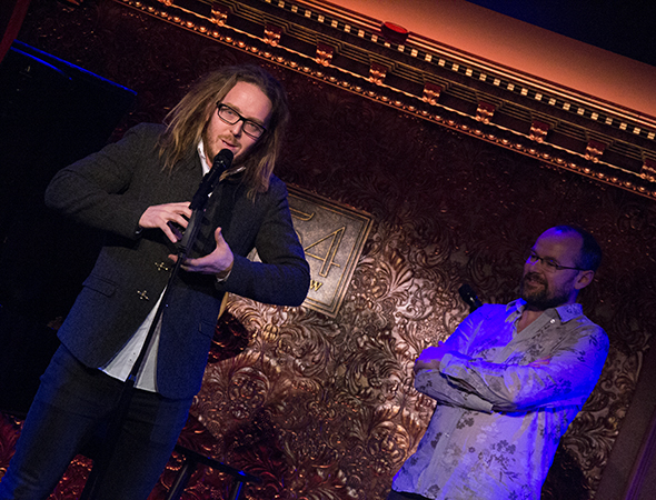 Tim Minchin talks about the process of creating <i>Matilda</i>.<br />(© David Gordon)