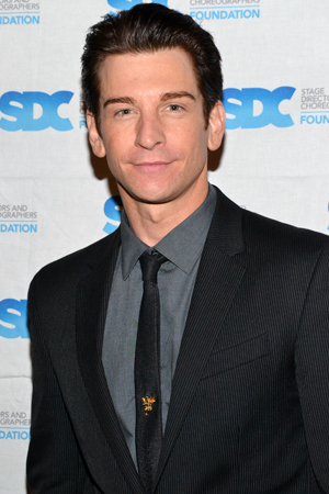 Andy Karl costarred in <i>Legally Blonde</i>, the first musical that Jerry Mitchell both directed and choreographed.<br />(© David Gordon)