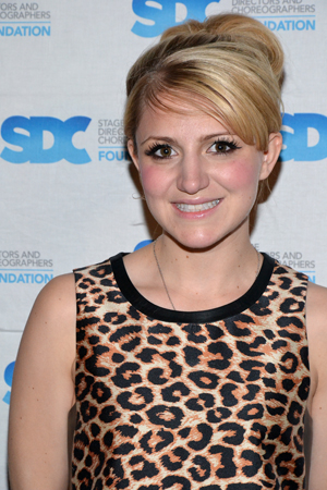 2013 Tony Award nominee Annaleigh Ashford is among the cast members of <i>Kinky Boots</i>, the most recent musical Jerry Mitchell directs and choreographs.<br />(© David Gordon)
