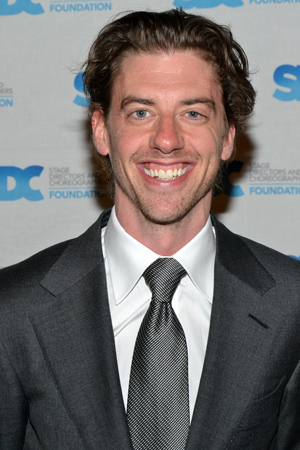 Christian Borle starred in <i>Legally Blonde</i>, which Jerry Mitchell directed in 2007.<br />(© David Gordon)