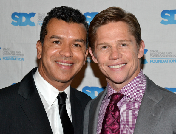 Sergio Trujillo and Jack Noseworthy get close for the camera.<br />(© David Gordon)