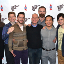 Rory O'Malley, B.D. Wong, and the Cast of David Drake's The Night Larry Kramer Kissed Me Meet the Press