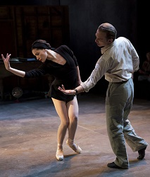 Natalia Alonso and Michael Cerveris in <i>Nikolai and the Others</i>.