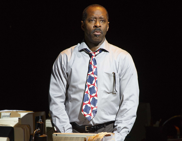 Courtney B. Vance in <i>Lucky Guy</i>