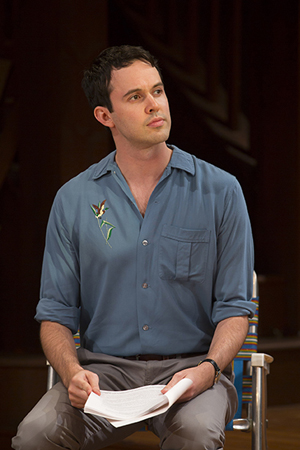 Jimmy Davis takes on the roles of Jim, Tom, and Kenneth in <i>Clybourne Park</i>.<br />© T Charles Erickson