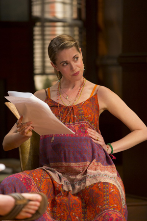 Lucy Owen in her second act role of Lindsey.<br />© T Charles Erickson