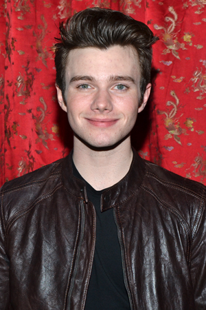 Chris Colfer is another member of Lynch's <i>Glee</i> cheering section.<br />(© David Gordon)