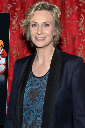 With <i>Annie</i>, film and television veteran Jane Lynch makes her Broadway debut.<br />(© David Gordon)